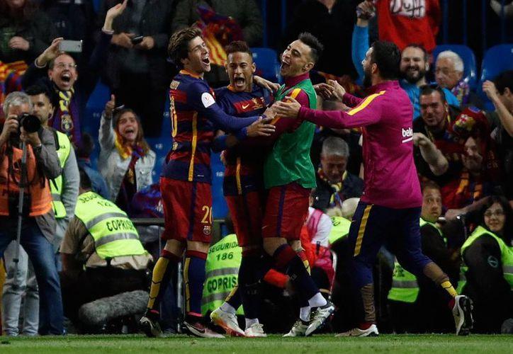Este domingo Barcelona consiguió su 28vo título de la Copa del Rey, el equipo más laureado en el torneo. (AP)
