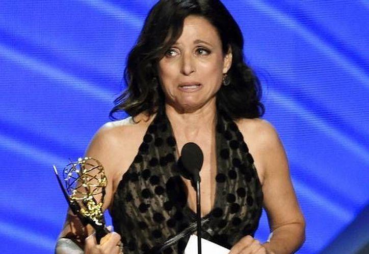 Gracias a Veep, Julia Dreyfuss mantuvo el título de Mejor Actriz Principal de Serie Cómica. (Fotos: AP)