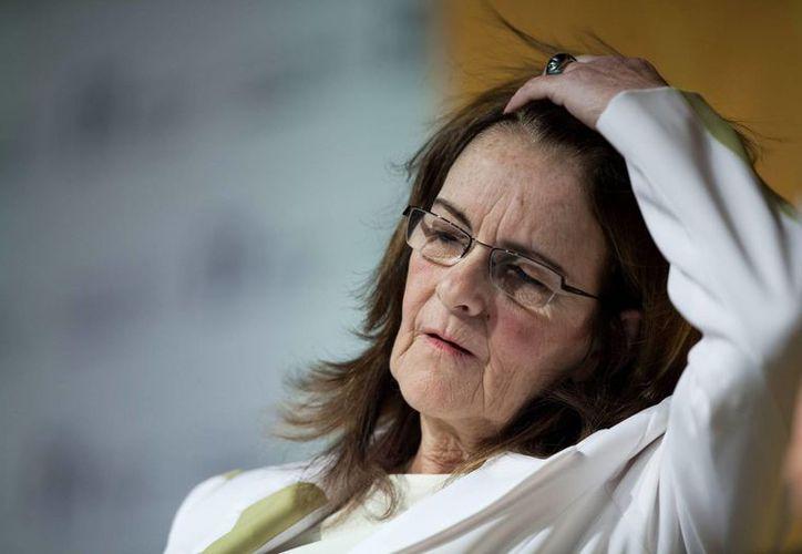 María das Grazas Foster, directora de Petrobras, fue informada sobre irregularidades en los contratos de la petrolera estatal. (EFE)