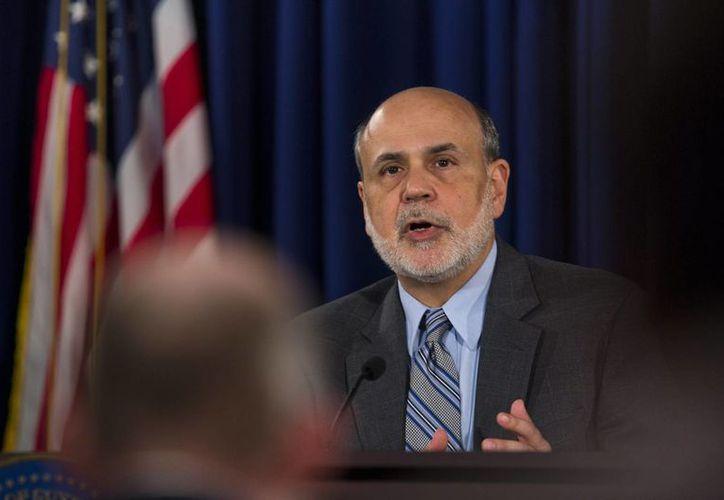 Ben Bernanke dejará el 31 de enero la presidencia de la Reserva Federal (Fed). (EFE)