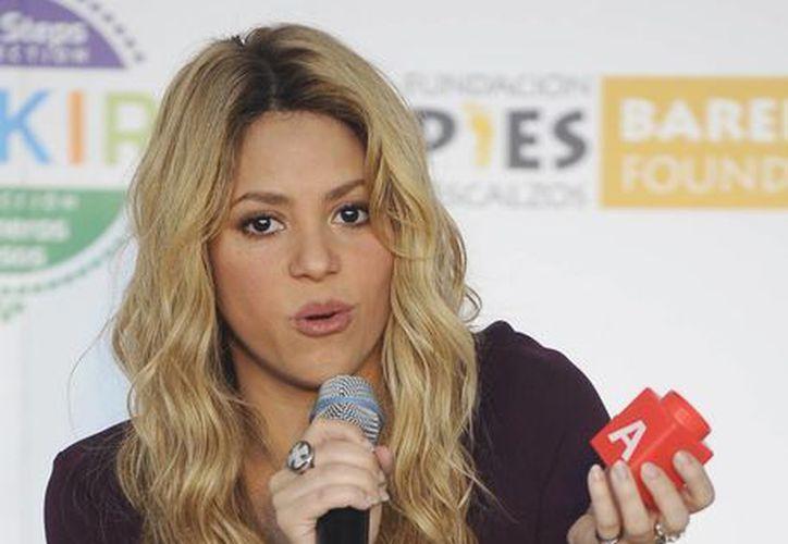 Shakira fue la diseñadora de una línea de juguetes para Fisher Price. (Agencias)