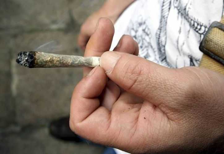 La droga ilegal de inicio más frecuente es la marihuana. (Archivo/SIPSE)