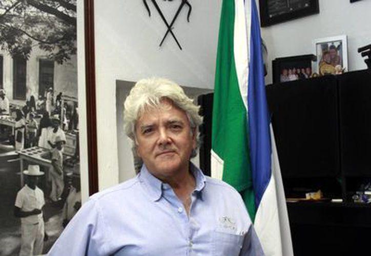 """""""Los franceses están invirtiendo, literalmente queman las naves y se vienen a México y apuestan por tener un futuro en el país"""", dice el el cónsul honorario de Francia en Yucatán. (Milenio Novedades)"""