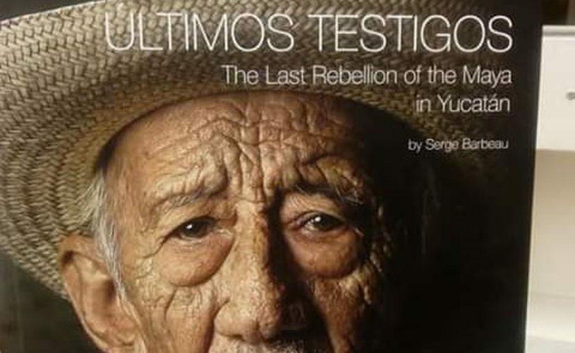 """Tres jerarcas mayas fueron invitados especiales en la presentación del libro y la exposición fotográfica """"Los últimos testigos de la guerra de castas"""". (Cortesía)"""