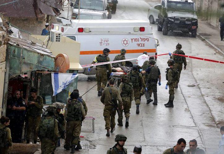 Sigue creciendo la espiral de violencia entre israelíes y palestinos: han muerto 56 palestinos  y nueve israelíes. (EFE)