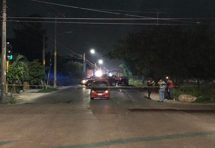 La ejecución se registró en el cruce de las avenidas 20 de Noviembre y la calle 61 Norte. (Redacción/SIPSE)