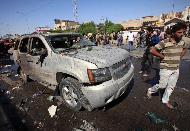 Los ataques son los últimos de una ola de derramamiento de sangre que ha afectado a Irak durante los últimos meses. (Agencias)