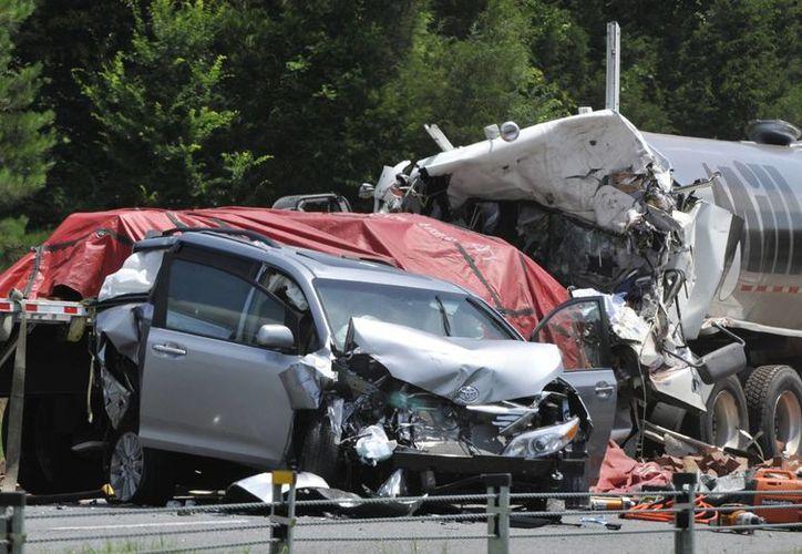 El índice de fatalidades en accidentes viales en EU en 2013 fue de cerca de 10 muertes por cada 100 mil personas (Agencias)