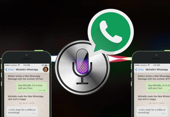 Siri también indicará la hora de recepción y también permitirá responder usando la voz. (The Country Caller).