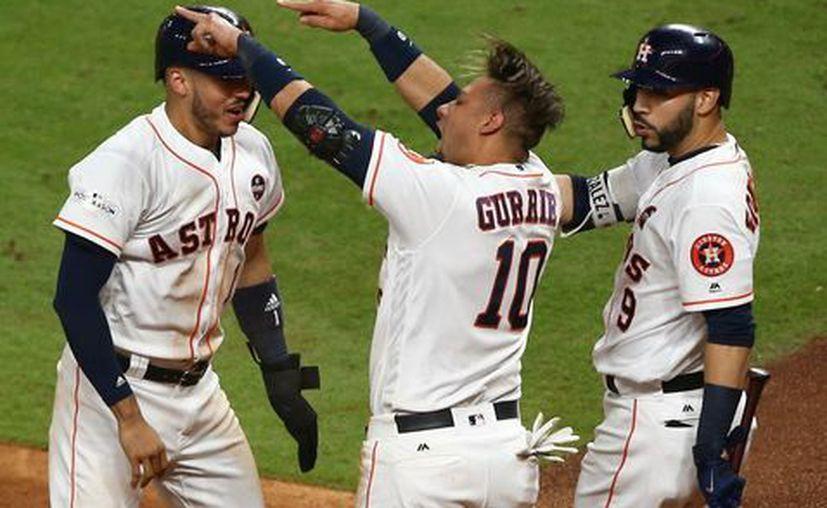 Astros de Houston aplastan a los Yanquis de Nueva York. (Reuters).