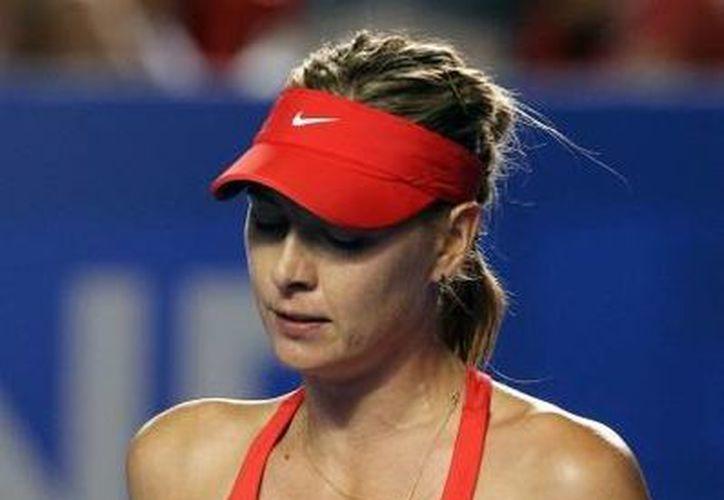 Maria Sharapova accedió a la final del Abierto de Roma; se enfrentará a la española Carla Suárez. (Fotografía: Notimex)