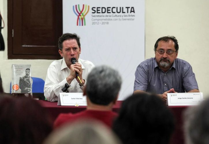 El autor necesitó tres años de investigación para completar el libro. (Amílcar Rodríguez/Milenio Novedades)