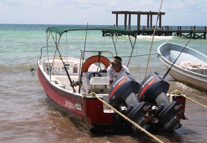Esta semana se prevé que la demanda de servicios acuáticos será menor. (Octavio Martínez/SIPSE)