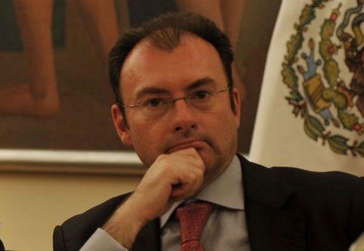 Secretario de Hacienda y Crédito Público, Luis Videgaray Caso. (tvazteca.com)