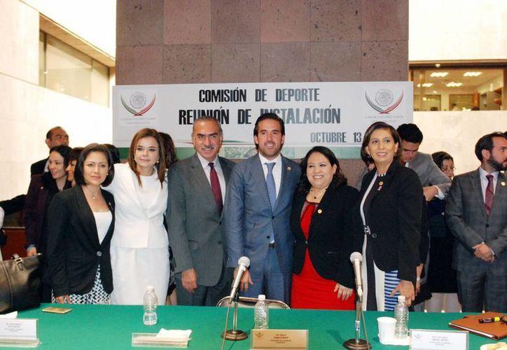 Se instaló la Comisión Permanente de Deportes de la Cámara Baja. (Milenio Novedades)