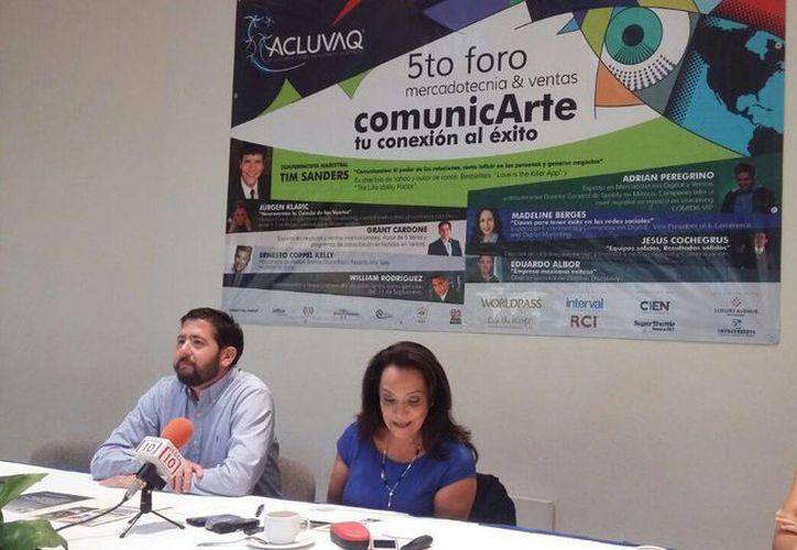 """Realizan el Foro de Mercadotecnia y Ventas que se denomina """"comunicArte, tu conexión al éxito"""". (Israel Leal/SIPSE)"""