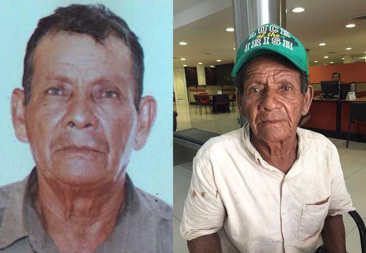 Don Ernesto no tiene teléfono, cualquier información sobre la familia que busca pueden llamar al número de Novedades Quintana Roo 998 881-59-00 extensión 37. (Eva Murillo/SIPSE)