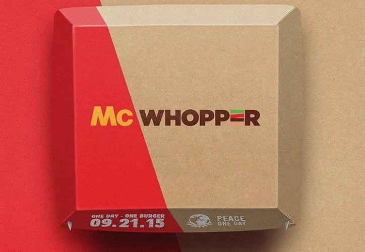 Burger King pide a McDonald's que ambos puedan crear una mezcla de sus dos hamburguesas más famosas, la Big Mac y la Whopper, un solo día en Atlanta. (fortune.com)