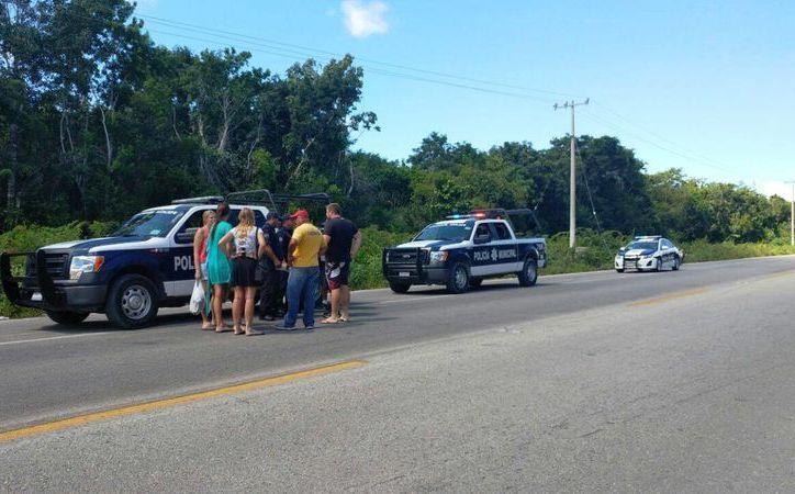 Un grupo de turistas extranjeros fueron asaltados con violencia en Cozumel. (Irving Canul/SIPSE)