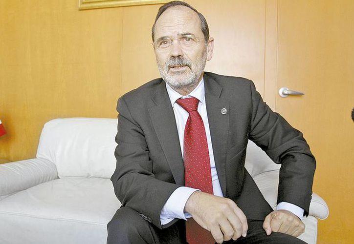 El presidente del PAN, Gustavo Madero, aseguró que los resultados en 2015 les permitirán prepararse para recuperar el gobierno federal en 2018. (Héctor Téllez/Milenio)