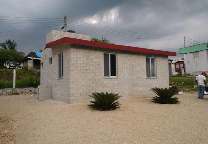 Cada casa tendrá un valor de 195 mil pesos; Al menos 86 viviendas, estarán listas para finales de este año. (Redacción/SIPSE)