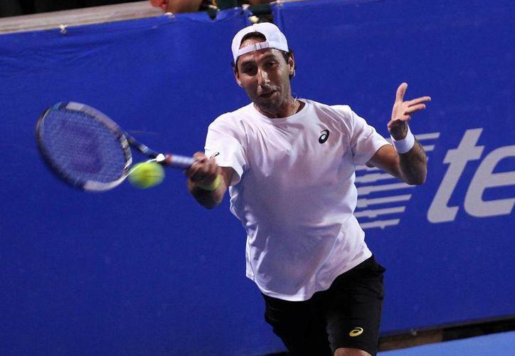El mexicano Santiago González (foto) y su pareja, el norteamericano Scott Lipsky ganaron y avanzaron a cuartos de final en dobles en el Abierto de Acapulco. (Notimex)