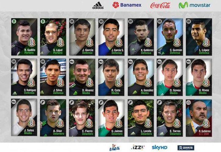 A partir del 18 de mayo en territorio francés, estos mexicanos jugarán el torneo Esperanzas de Toulon, conocido por ser semillero de las futuras estrellas del balompie internacional. (Facebook: MiSelección)