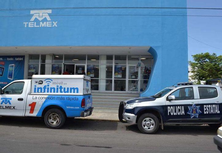 Campesinos dicen que como el edificio lo tienen embargado, todo lo que se recaude en cajas pasara a ser propiedad del ejido Aarón Merino Fernández. (Claudia Martín/SIPSE)