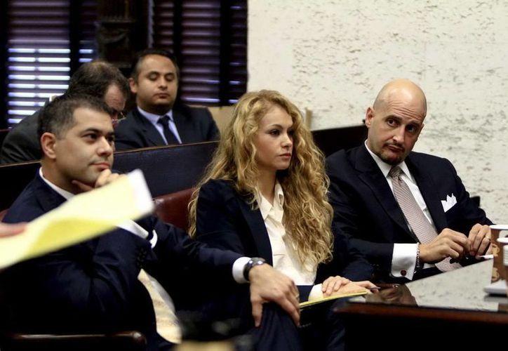 Según versiones extraoficiales, Paulina Rubio logró una acuerdo judicial para el pago de 243,000 dólares a su exesposo Nicolás Vallejo-Nágera. (Archivo/NTX)
