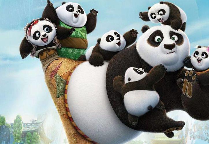 La película Kung Fu Panda llega este fin de semana a los cines de México. (gameit.es)