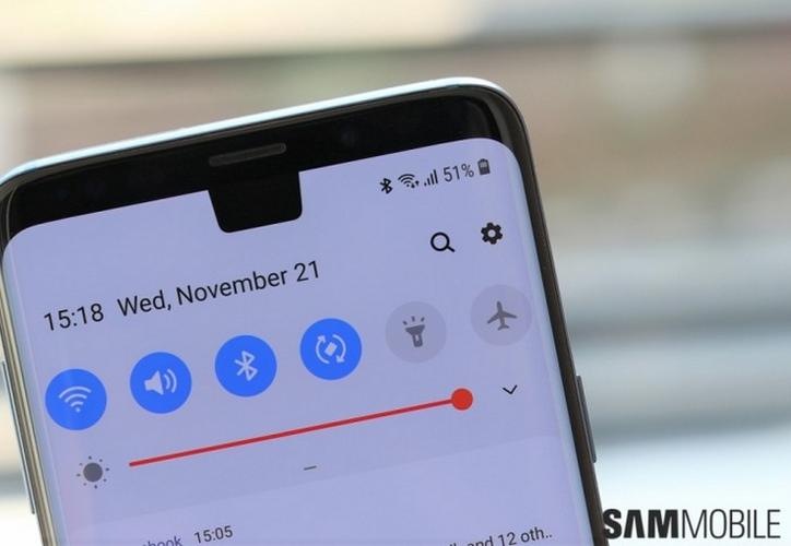 Existen tres opciones para usar el notch en la beta de Android Pie para Samsung. (Foto: Contexto/Internet)