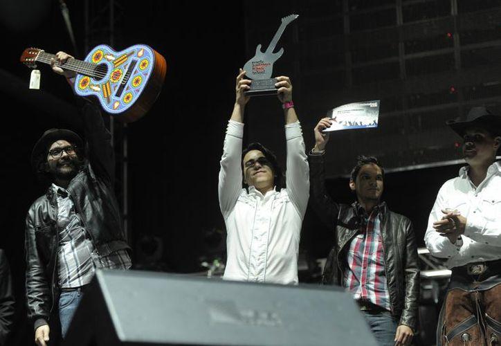 Un Día de Octubre, banda surgida en Ciudad Juárez, Chihuahua, ganadora indiscutible del Rockampeonato. (telcel.toni.com.mx)