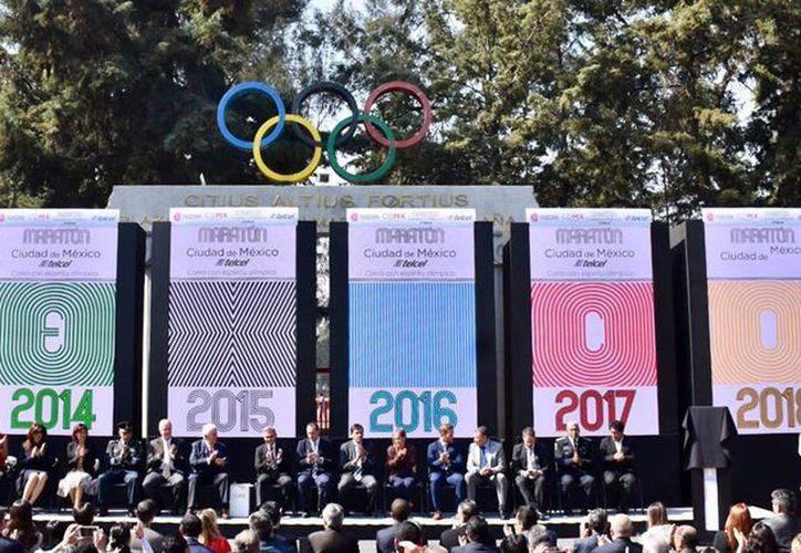 Los 'runners' que compitan en el Maratón de la Ciudad de México 2018 podrán disfrutar de una gran vista. (Mediotiempo)