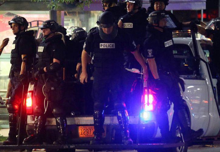 Un portavoz de la universidad ha indicado que un residente en el Campus Edge Apartments recibió un disparo en el tiroteo. (Reuters).