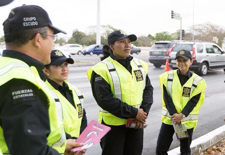 Durante el alcoholímetro del pasado fin de semana se detuvo a 16 personas en la costa yucateca. (Milenio Novedades)