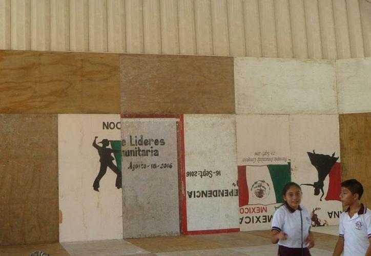 El domo será la sede de la toma de protesta del presidente electo. (Raúl Balam/SIPSE)
