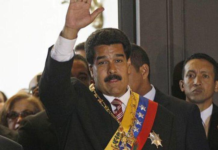 Nicolás Maduro se lanza contra la oposición venezolana. (Agencias)