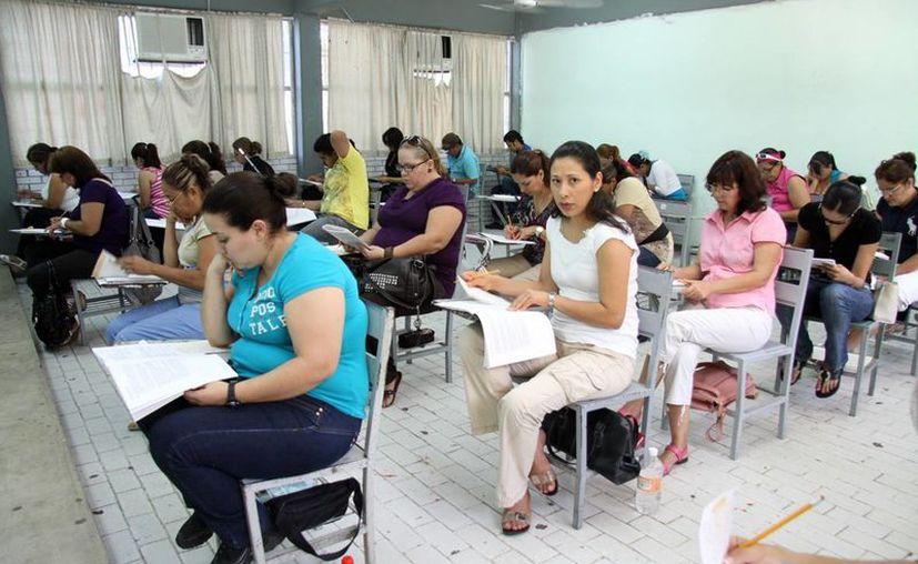 En Yucatán, mil 246 profesores asistieron para su Evaluación de Desempeño. (Milenio Novedades)