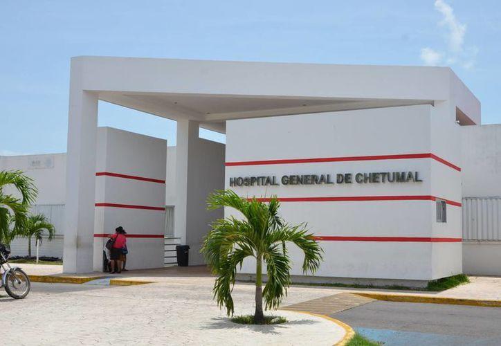 Sesa adeduda los trabajos de remodelación en el Hospital General de Chetumal. (Gerardo Amaro/SIPSE)
