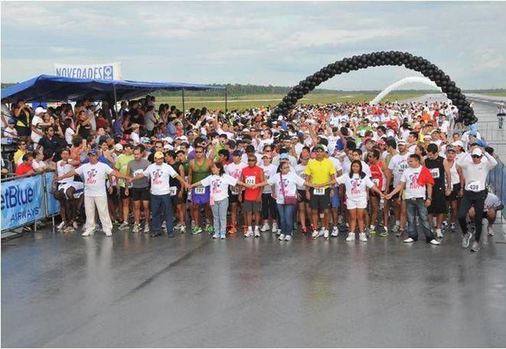 Esperan a más de dos mil competidores para la competencia. (Archivo/SIPSE)