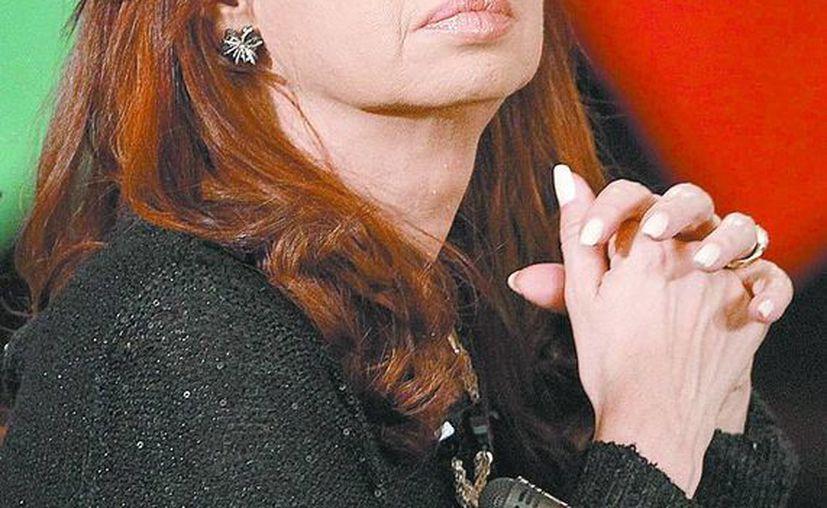 Cristina Fernández de Kirchner. (Milenio)