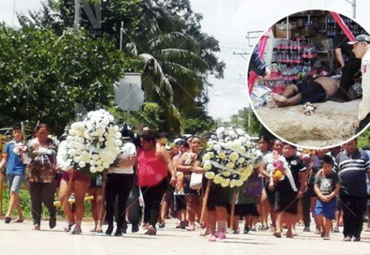 Este viernes al mediodía partió el cortejo fúnebre. (Novedades Yucatán)