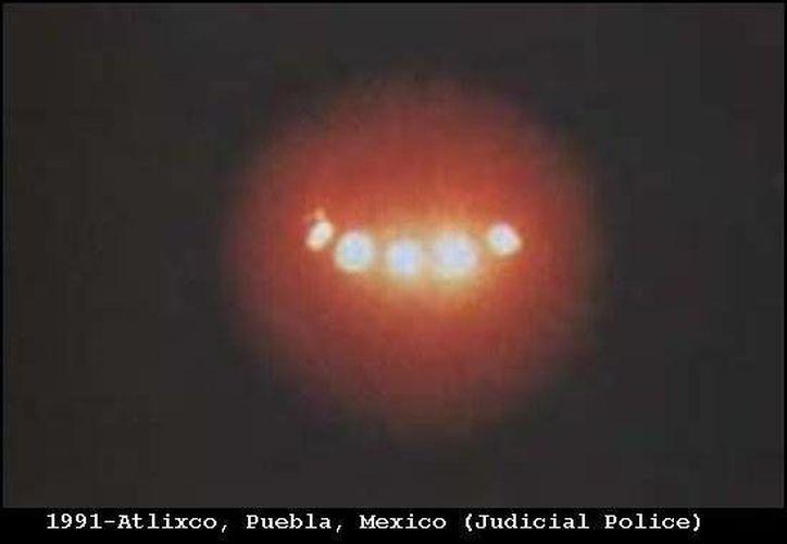 La descripción del ovni de la carretera Mérida-Uxmal es parecida a esta foto, captada en Atlixco, Puebla. (Jorge Moreno/SIPSE)
