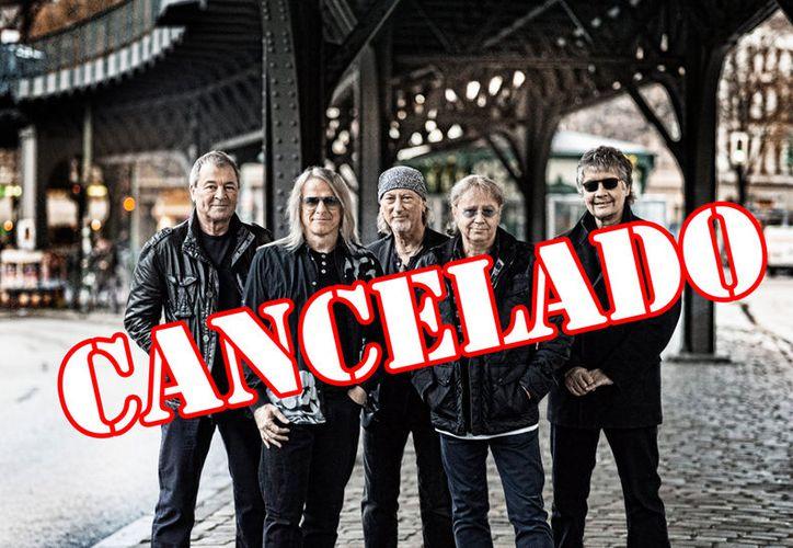 """El concierto de la banda británica Deep Purple fue cancelado en Mérida,  """"por causas de fuerza mayor"""" según organizadores."""