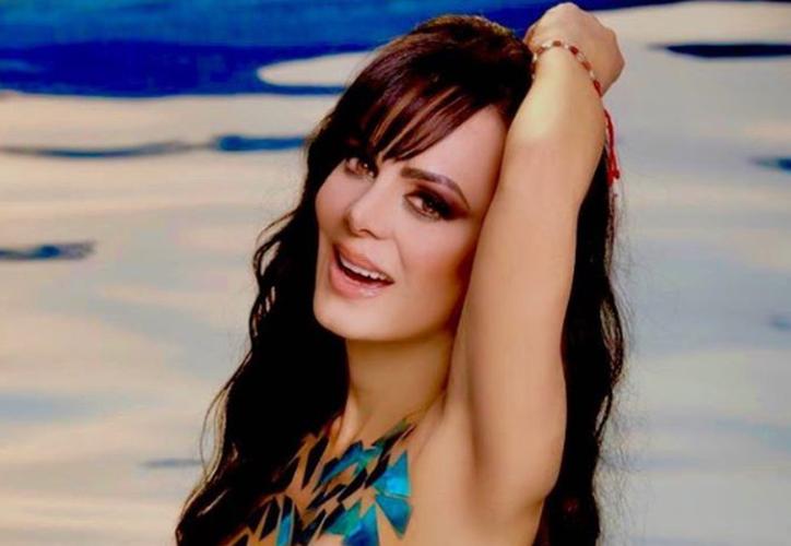 """Maribel Guardia celebró con una sugerente fotografía su ingreso a la """"tercera edad"""". (Instagram/@maribelguardia)"""