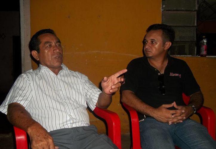 Este es el sanador Próspero Serrano, quien 'liberó' a los tres niños de la posesión demoniaca. (Jorge Moreno/Milenio Novedades)