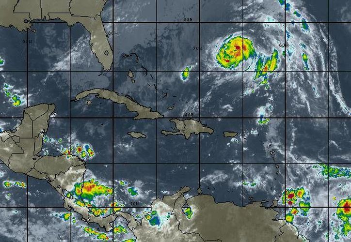 En Chetumal hay un 90% de probabilidad de lluvias. (Intellicast)
