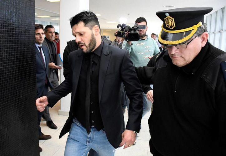 Matías Horacio Messi, hermano del astro del fútbol, fue condenado a dos años y seis meses de prisión por portar un arma de fuego sin permiso. (Reuters)