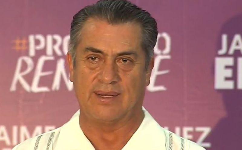 Jaime Rodríguez reconoció que las encuestas no le favorecieron. (Facebook)