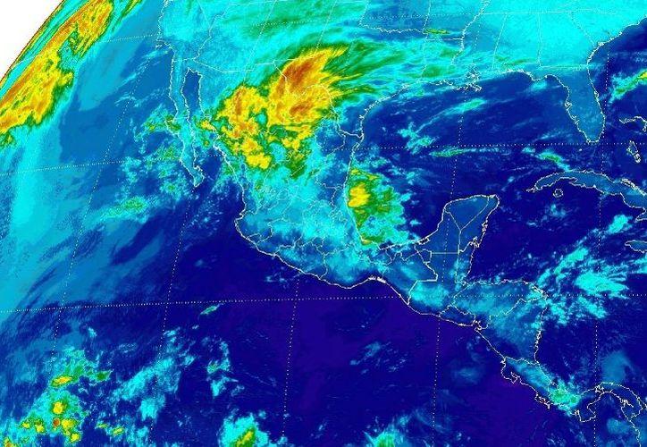 Para la capital, se prevé un cielo parcialmente nublado en la zona. (Conagua)